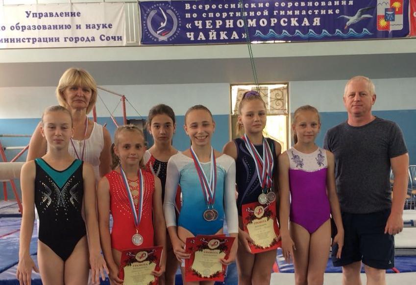 Спортивные гимнастки из новороссийской «Надежды» - одни из лучших в стране