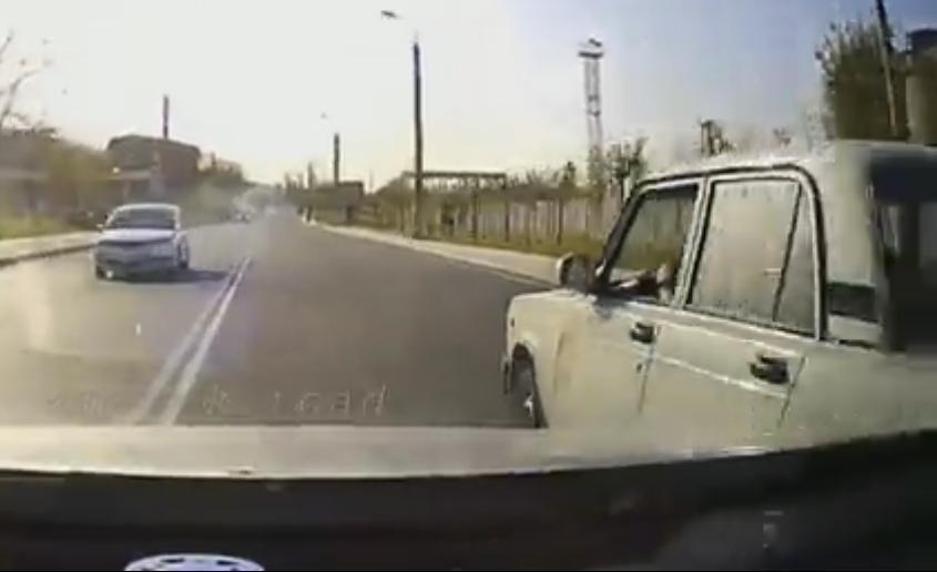 Видео лихой погони по дорогам Новороссийска попало в сеть