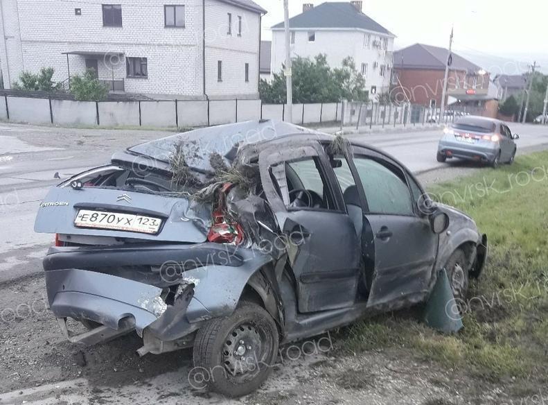 Мокрые выходные в Новороссийске подвели некоторых автомобилистов