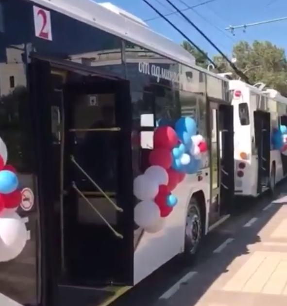 Стало известно по какому маршруту будут курсировать новые троллейбусы в Новороссийске