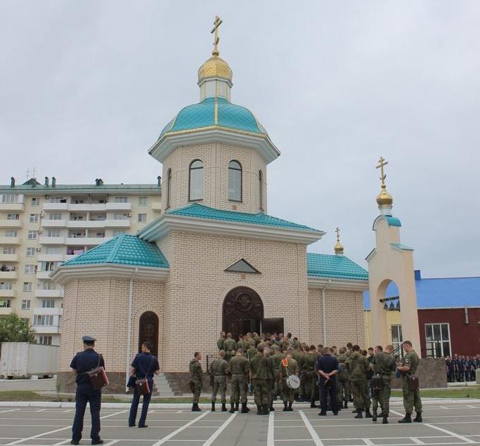 Церковь иконы Божей матери «Нечаянная радость» освятили в Новороссийске