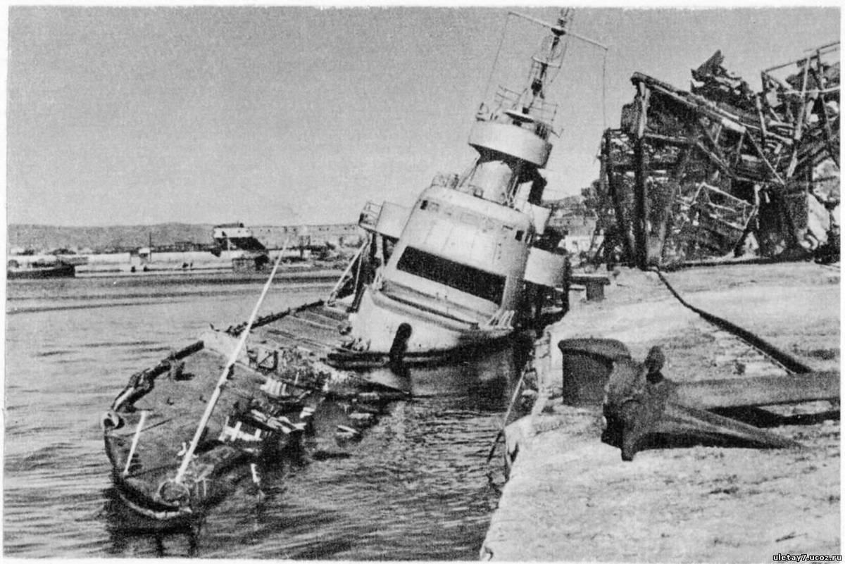 Новороссийск 75 лет назад: погода угрожает операции по освобождению города