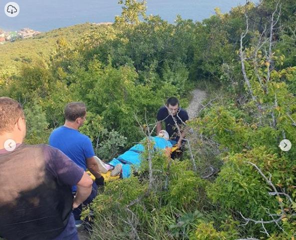 Трехчасовая спасательная операция развернулась на Колдуне в Новороссийске
