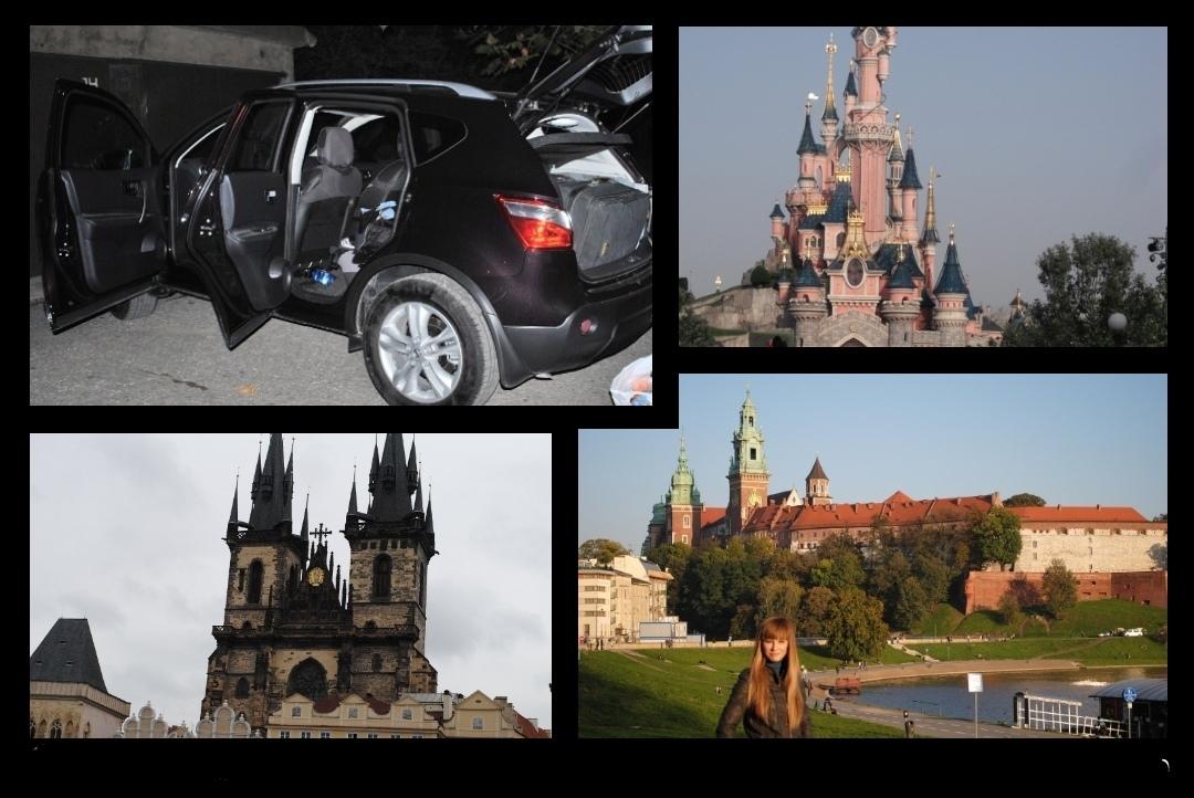 Из Новороссийска в Париж на собственном авто. ч.2 «Экономим на визе»