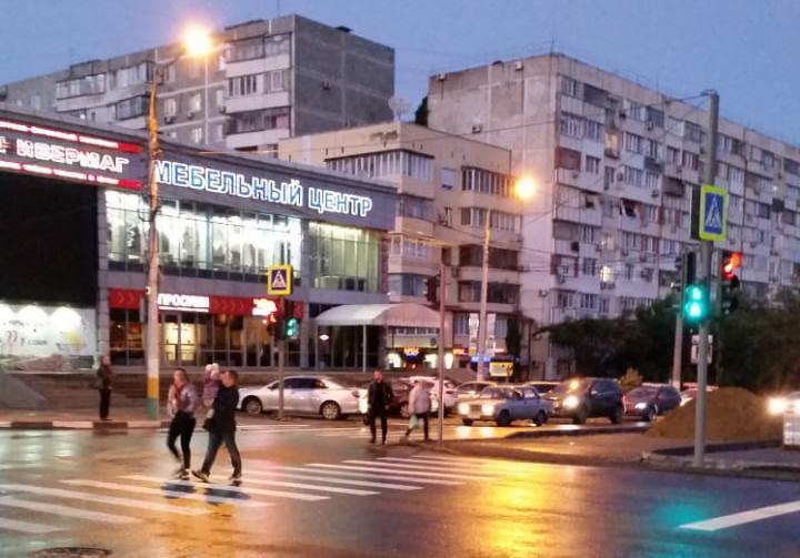 Еще один светофор включился в работу в Новороссийске