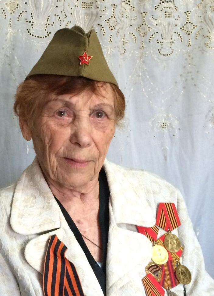 Скончалась ветеран ВОВ, фронтовая медсестра Вера Бордиан