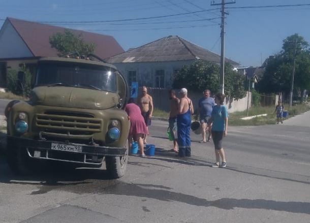 Время подачи воды в Новороссийске снова перенесли