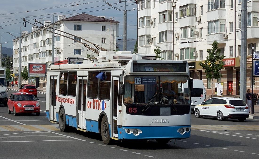 В Новороссийске закольцуют две троллейбусные линии