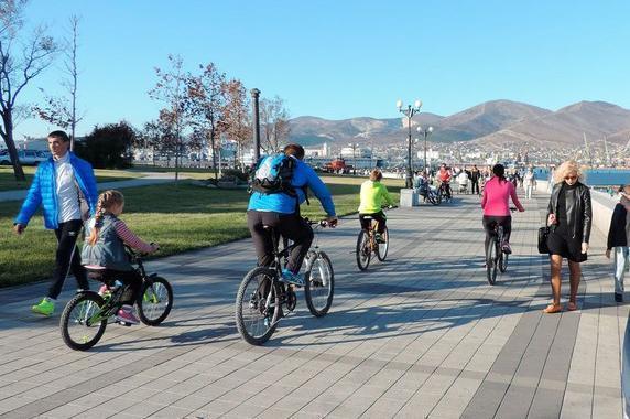 Велодорожки на набережной Новороссийска обещают сделать безопасными