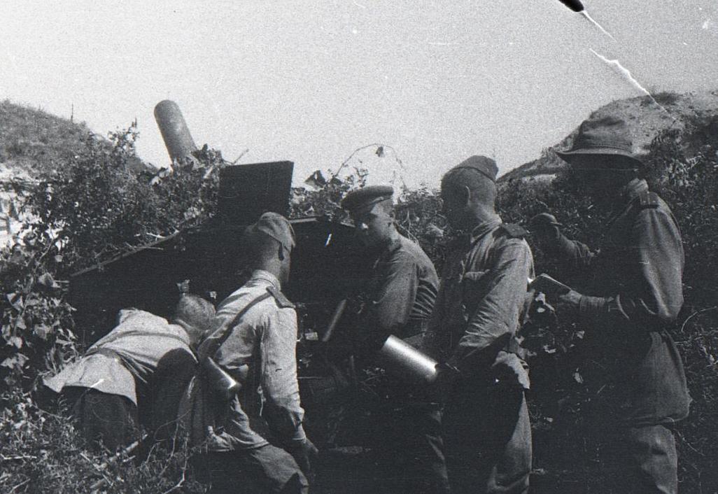 Новороссийск 75 лет назад: убили сотни гитлеровцев и захватили трофеи