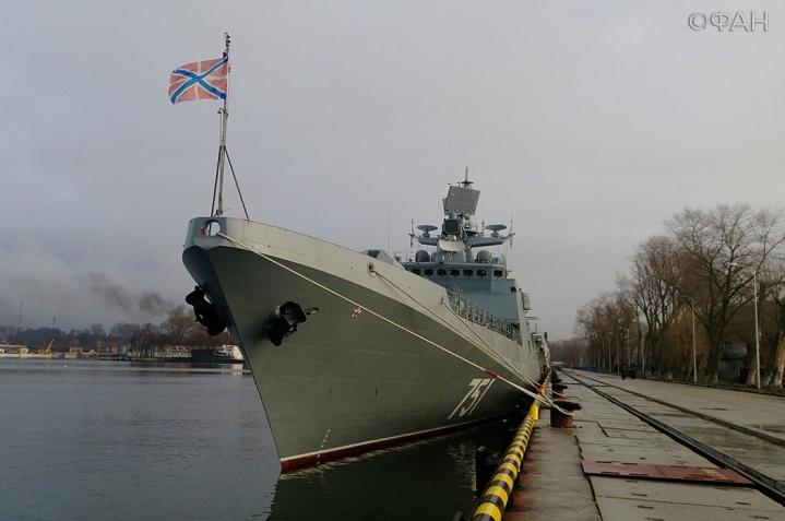 Озвучены причины наращивания сил флота в Новороссийске