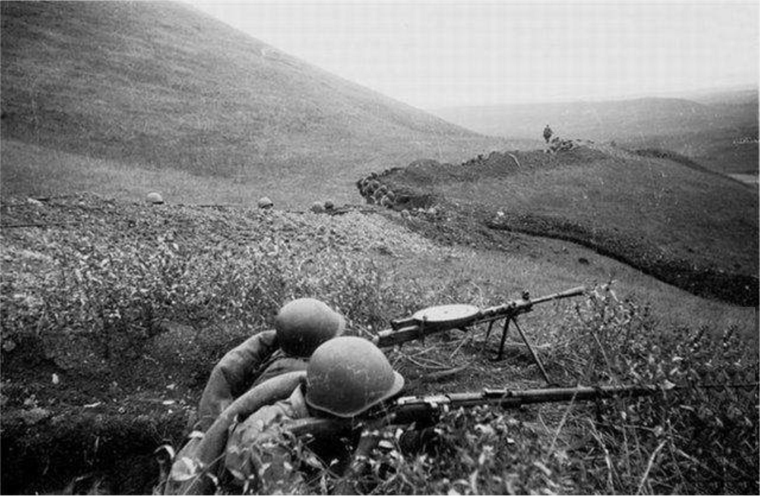 Новороссийск 75 лет назад: окопная война глазами новобранца