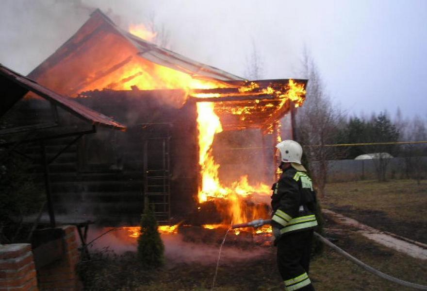 Под Новороссийском заживо сгорел ребенок