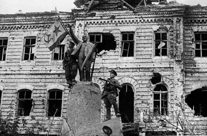 Новороссийск 75 лет назад: радость и горе освободителей