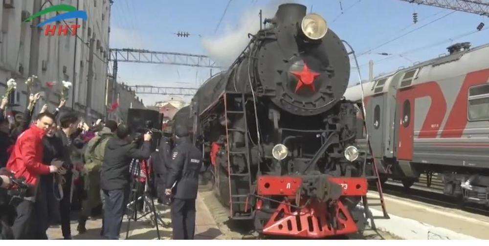 Поезд «Победа» готов отправиться в Новороссийск